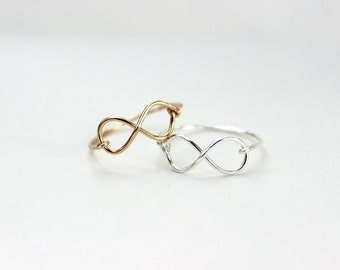 Infinity Ring Set of 2