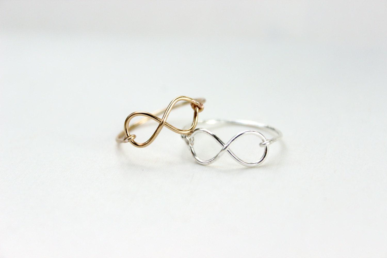 best friend infinity rings