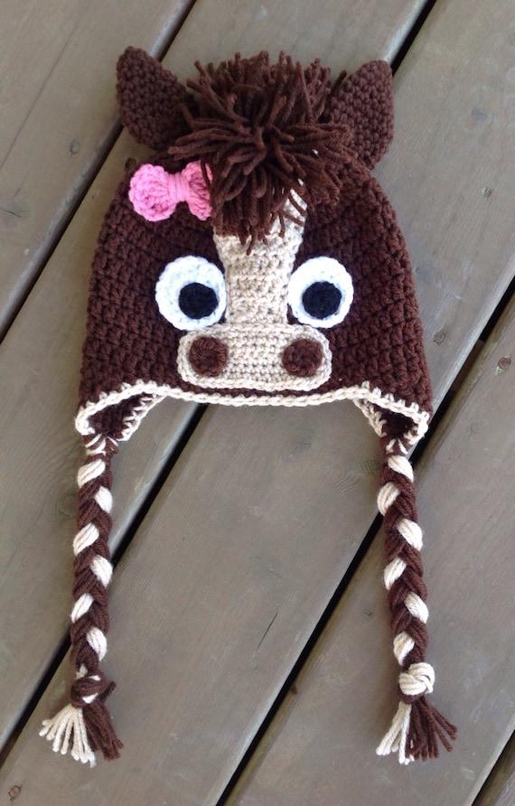Free Crochet Pattern For Horse Hat Pakbit For