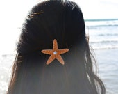 Starfish Barette-Mermaid barrette starfish barrette mermaid accessories mermaid hair ariel hair clip