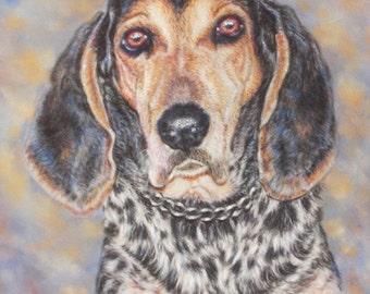 Dog Portrait Custom Pet Portrait, Pet Painting, Pastel Portrait from Photo, Gift for Pet Lovers