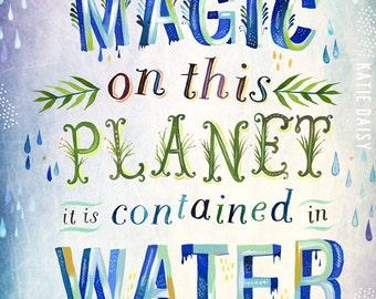 Magic Planet   -   vertical print