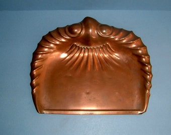Arts and Crafts Crumb Tray JS&S Sankey Copper Antique Edwardian  Art Nouveau
