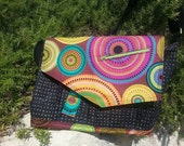 Modern Messenger Bag Quilted Laptop Bag Brightly Colored Cross Body Style Messenger Bag Roomy Book Bag