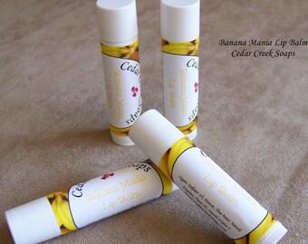 LIP BALM ~ Banana Lip Balm ~ Natural Lip Balms