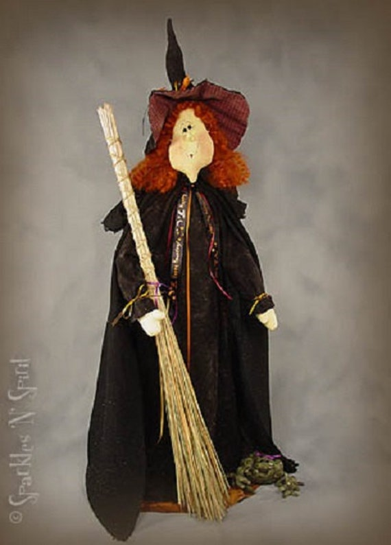 "Pattern: Matilda - 36"" Witch"