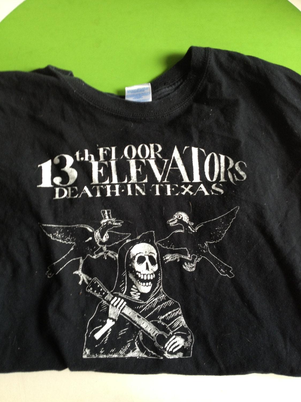 13th floor elevators shirt roky erickson by lowsparkvintage for 13th floor elevators shirt