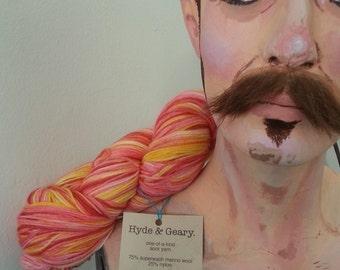 Berry Season OOAK sock yarn