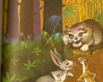 Fabulas - Jean De La Fontaine - Domingo Rubies - 1968 - Vintage Book