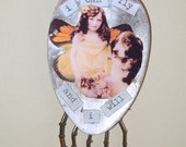 Altered Vintage Spoon Assemblage, I Can Fly
