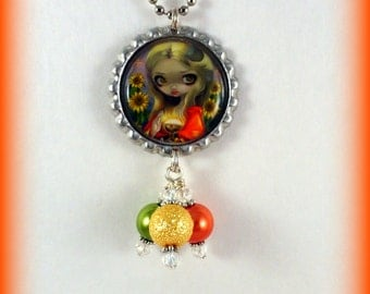 "Jasmine Becket-Griffith  "" Sun Child ""  necklace"