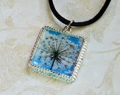 Queen Anne's Lace Wildflower Photo Pendant