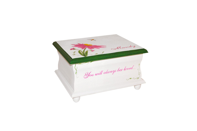 keepsake memory box baby you will always bee. Black Bedroom Furniture Sets. Home Design Ideas