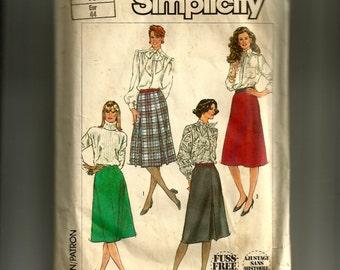 Simplicity Misses' Skirt Pattern 7767