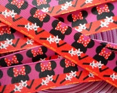 "7/8"" Mouse  grosgrain 5 yards"