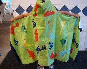 Hooded Towel//Little Dino//Beach//Swim//Bath