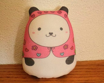 "pandita ""kawaii"" russian art doll (pink)--(ship in 1 day)"