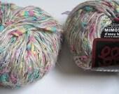 2 balls of Anny Blatt Mimosa yarn