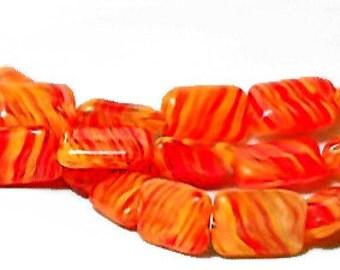 Creamsicle- Ltd. Edition Hurricane Glass Beads