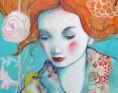In Confidence-ACEO  Open edition reproduction by Maria Pace-Wynters