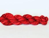Red Delicous Mini Skein - Marianne Sport Yarn