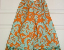 Samurai Pants - Amy Butler - Belle Acanthus - 2 Years of Fashion - Pick the size Newborn up to 8 Years by Boutique Mia