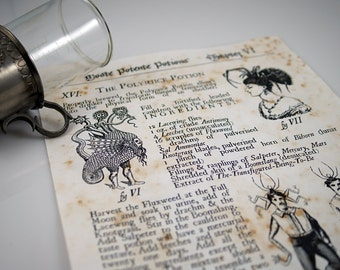 Harry Potter inspired Polyjuice Potion page