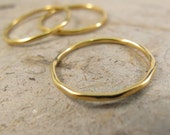 Gold Stack Rings - Individual Tow Tow Gold Filled Stacking Ring, or Midi Ring