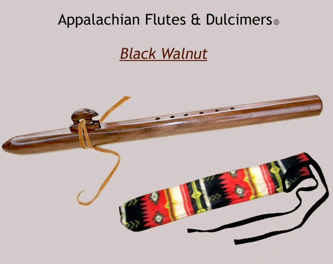 Appalachian Flute - Walnut, with Case