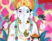 Ganesh of Release PRINT