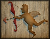 Primitive Valentines Cupid Door Doll with Bow and Arrow PATTERN EPATTERN