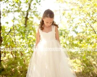 Flower Girl Dress Floor Length