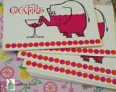 VINTAGE FIND:  Cocktail Party invites vintage fun