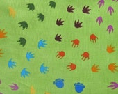 Dinosaur Train Cotton Quilting Fabric - 1 yard