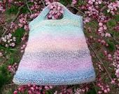 Welcome Spring Handknit Purse