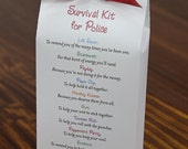 Survival Kit for Police - Printable PDF