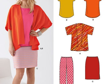New Look Sewing PATTERN - 6217 - Sizes 10 - 22