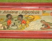 Recycled Picture Frame Childerns Book Cover Tray - Die Kleinen Negerlein - Art