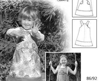 FARBENMIX Euro German Pattern CELINA Girls jumper dress Sz 1/14 SALE