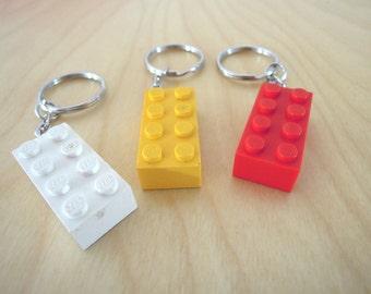 LEGO bricks keychain
