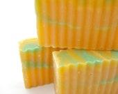 Coconut Lemongrass Soap - Handmade Cold Process Olive Oil Soap - Coconut Lemongrass Lime