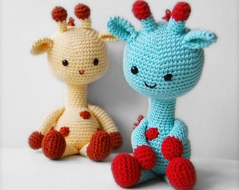 Amigurumi Pattern - George the Giraffe