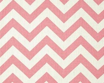 BABY PINK CHEVRON window valance pink chevron pink zig zag