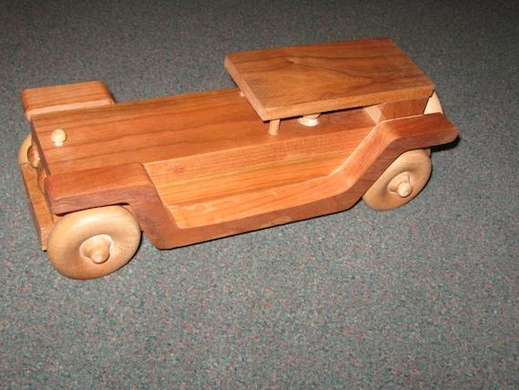 Classic wood toy Rolls Royce
