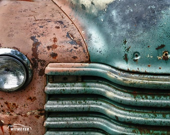 Rusty Truck -  Automotive Art -  Home Decor