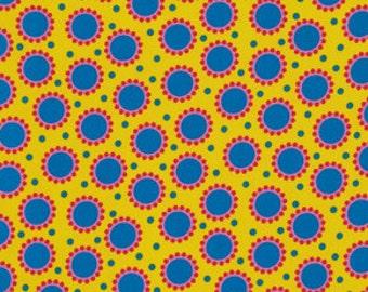 Jane Sassaman Delirious Dots in Red,  Wild Child Fabric, yard