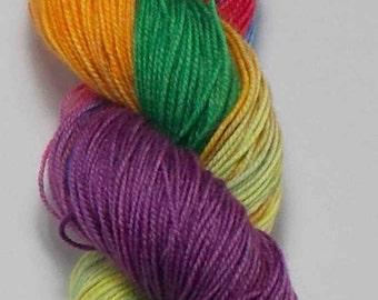 Cashmere Rainbow Sock/4-ply