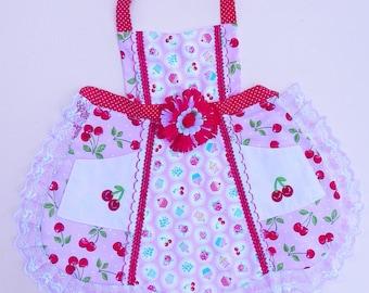 Cherry Jubilee Apron
