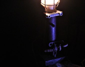 Industrial Salvage light lamp