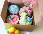 The Perfect Gift ...(8) Soap Tarts Gift Boxed with Bow and Gift Tag...u pick your favorites...